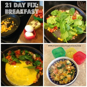 21 Day Fix Breakfast