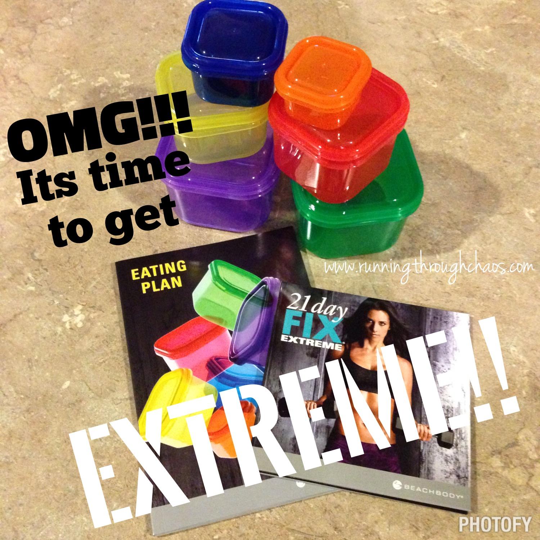 Calendario De 21 Day Fix Extreme.21 Day Fix Extreme Week 1 Running Through Chaos